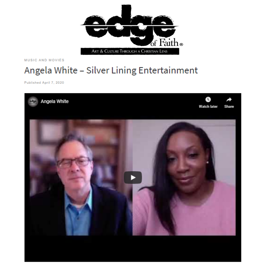 Edge of Faith Magazine with Angela White