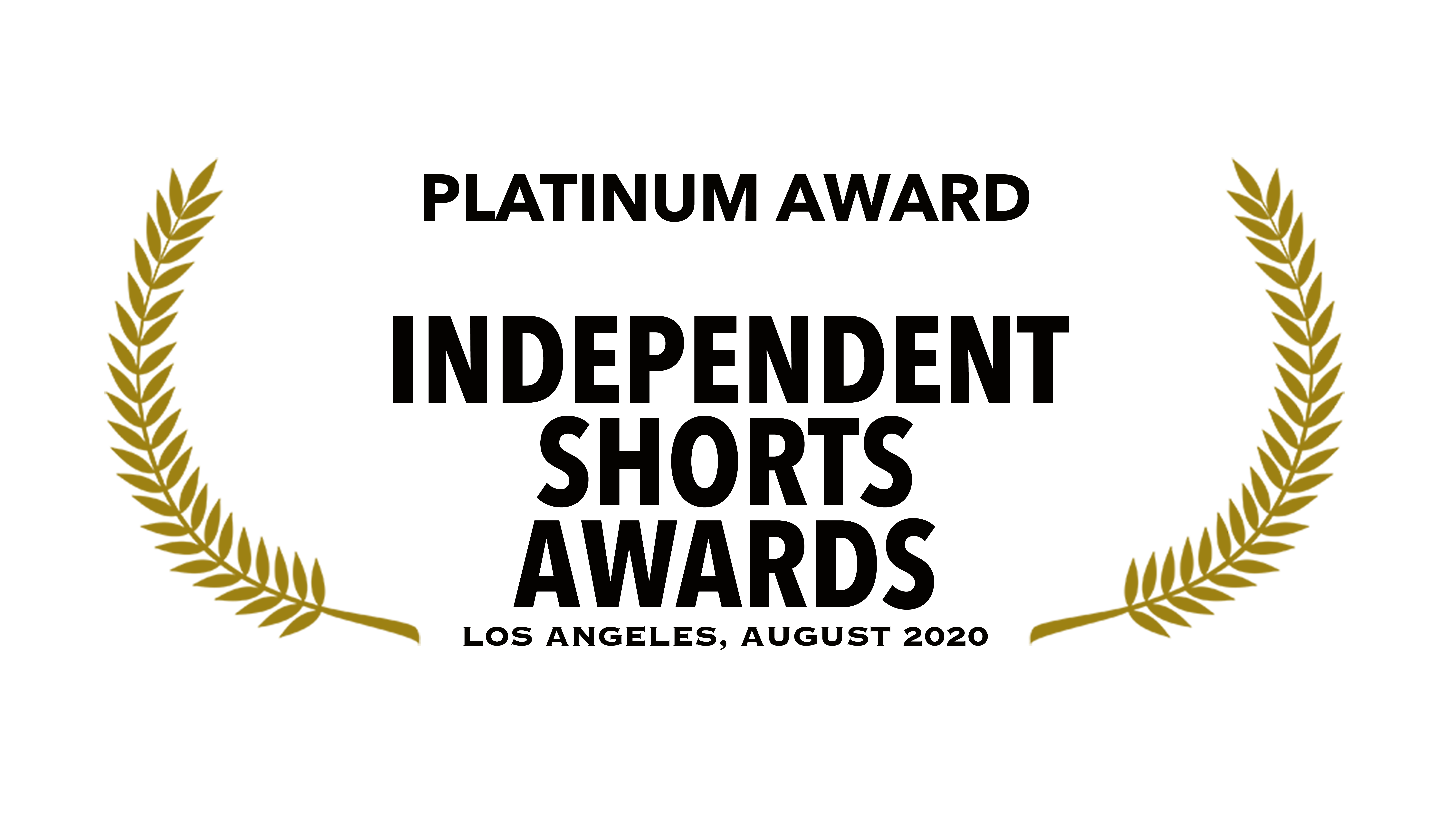 Platinum Award Independent Shorts Awards