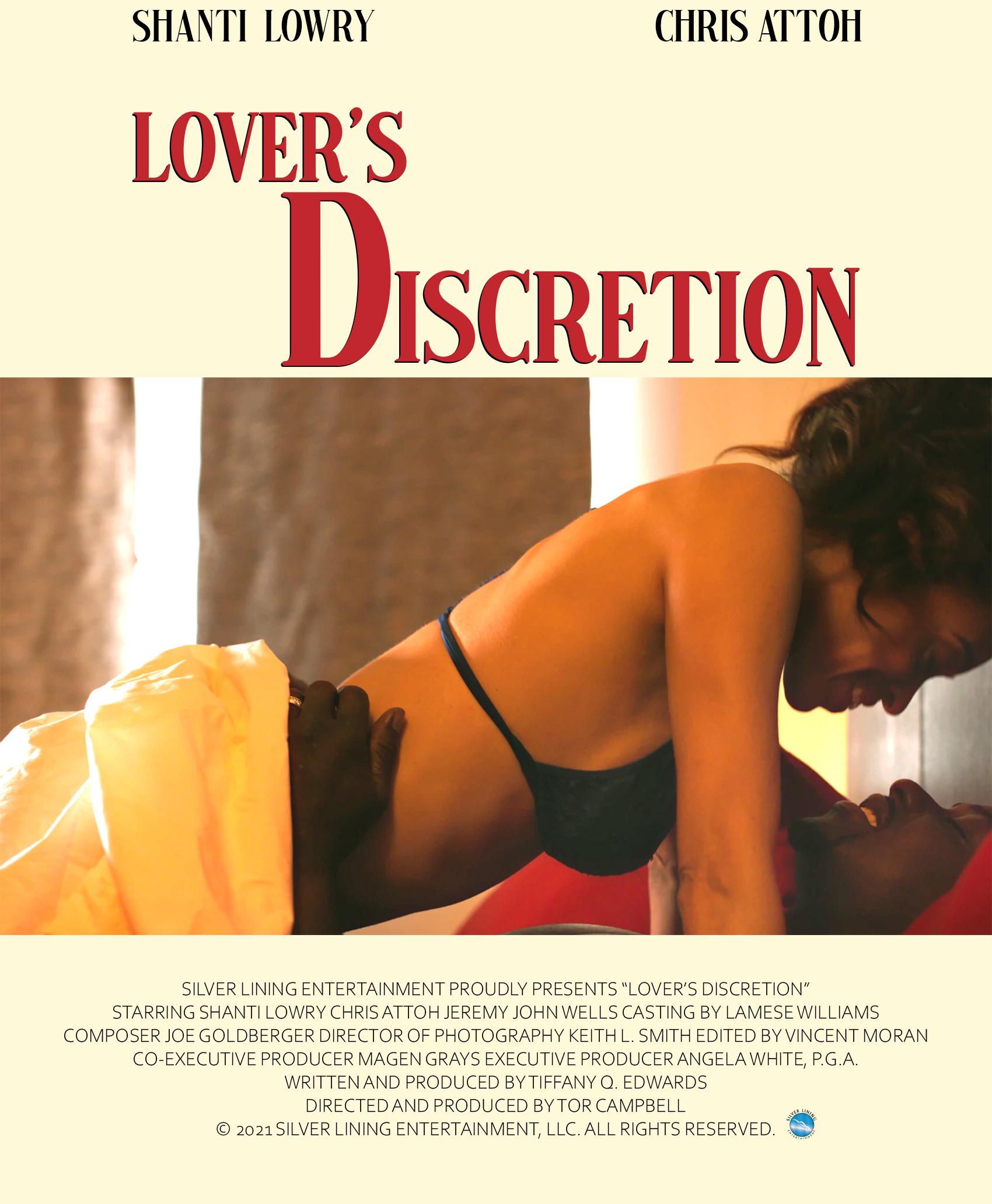 Lover's Discretion Poster